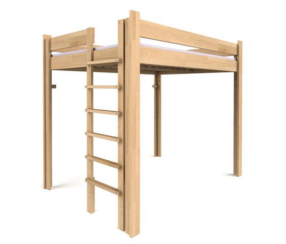 Youth Loft Bed  DBB-100DS-140 de De Breuyn | Camas de niños / Literas