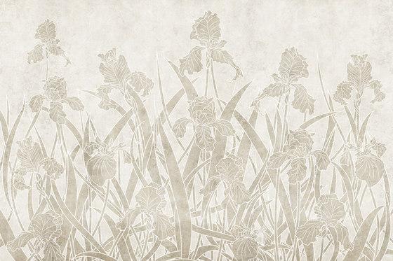 Bloom Iris by GLAMORA   Bespoke wall coverings