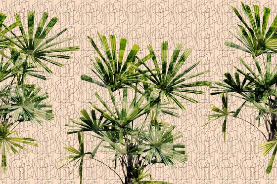 Geometric Cubic Plant von GLAMORA   Wandbeläge