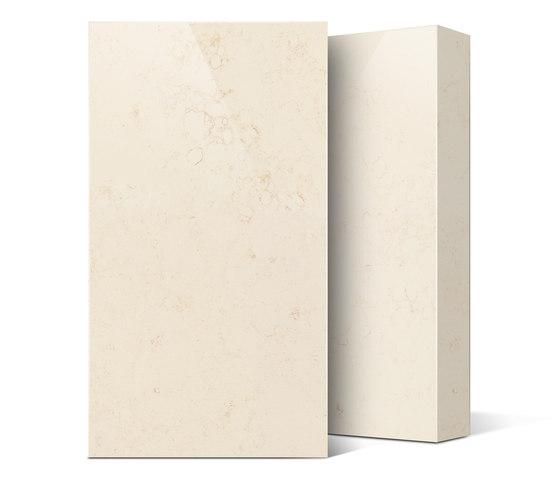 Marble Crema Valencia di Compac | Lastre minerale composito