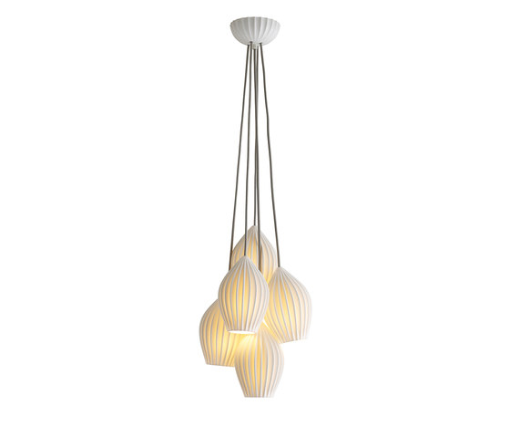 Fin Grouping of Five Pendant di Original BTC | Illuminazione generale