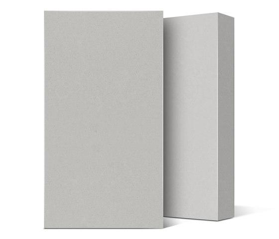 Quartz NY Collection Ice Zement Glace de Compac | Panneaux matières minérales