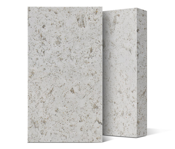Quartz NY Collection Ice Concrete by Compac | Mineral composite panels