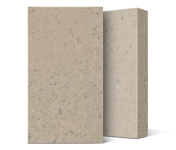 Quartz NY Collection Beige Concrete di Compac | Lastre minerale composito