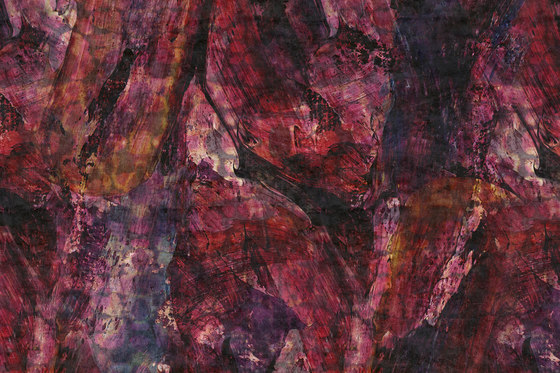 Macroflower Tempera von GLAMORA | Wandbeläge