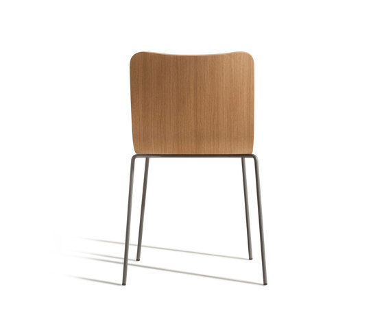 Miró 410 Y by Capdell | Visitors chairs / Side chairs