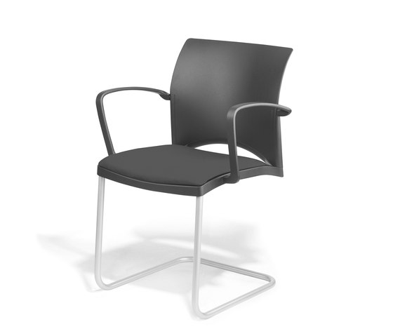 Linea Cantilever Visitor Chair by Viasit | Chairs