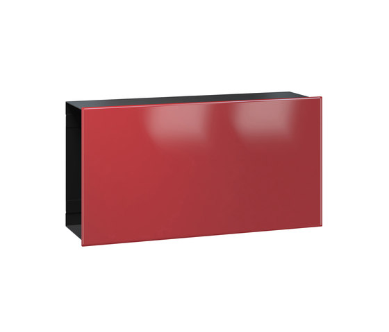 Newspaper slot   Flat   steel by Serafini   Mailboxes