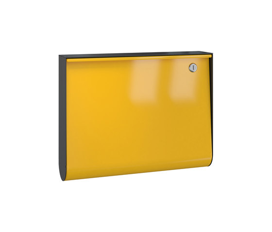 Letterbox | U-Box | steel by Serafini | Mailboxes