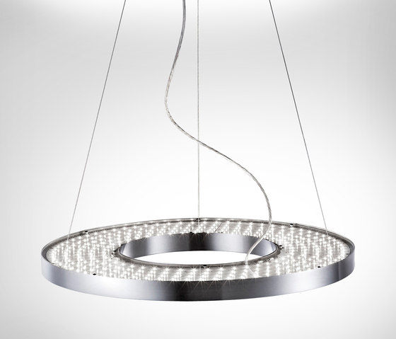 Vivaa ring suspended luminaire general lighting from h for Suspente luminaire