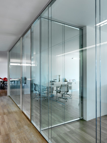 Partition W80 by Tecno   Wall partition systems