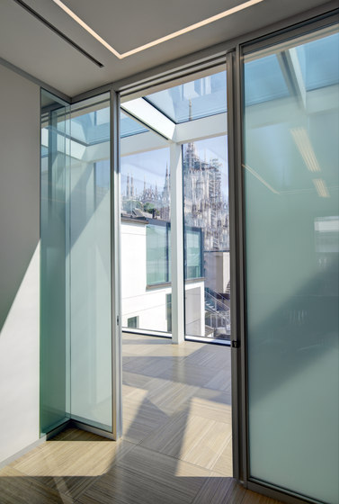 Partition W80 by Tecno | Wall partition systems