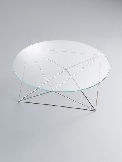 Dia | Glass Coffee Table de Stylex | Mesas de centro