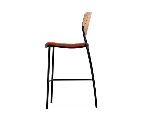 Welcome | Bar Stool | Full Back von Stylex | Barhocker
