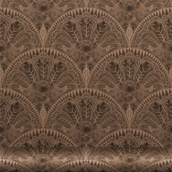 Florinda 114 Bronce by Equipo DRT | Wall coverings / wallpapers