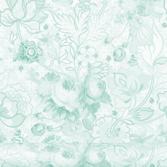 Berenice 447 Menta von Equipo DRT | Wandbeläge / Tapeten