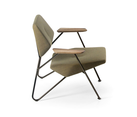 Polygon armchair lounge chairs from prostoria architonic for Lounge chair kopie