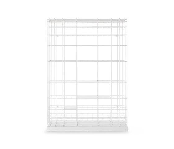 Leyva | bookcase | white by Saba Italia | Shelving