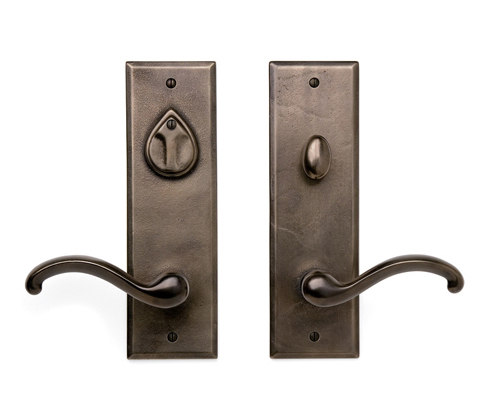 Entry Sets - CS-410PLD by Sun Valley Bronze | Handle sets