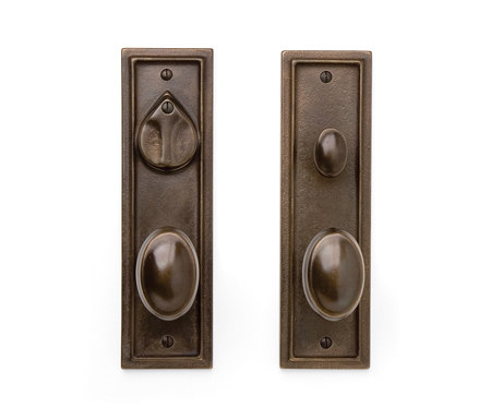 Entry Sets - CS-421PLD by Sun Valley Bronze | Handle sets
