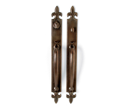 Entry Sets - CS-1225HH by Sun Valley Bronze | Handle sets