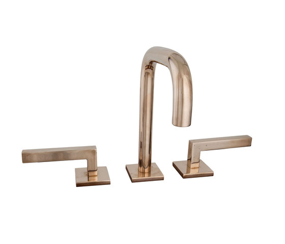Faucets & Fixtures - CS-LF06-PN925/L-172 by Sun Valley Bronze | Wash basin taps