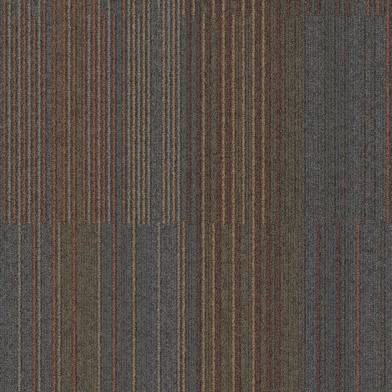 Chenille Warp Recurrence by Interface USA | Carpet tiles