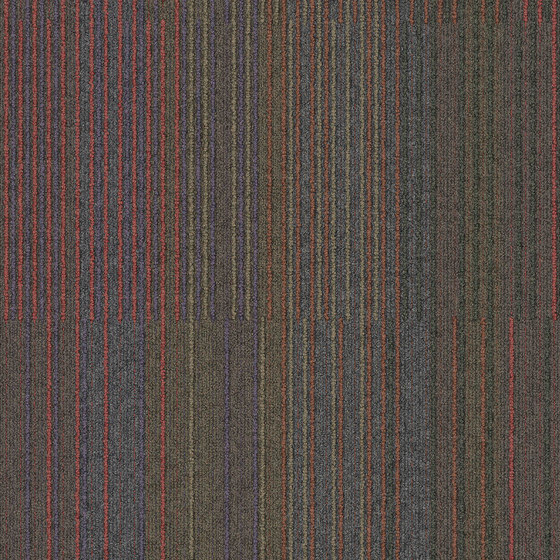Chenille Warp Yesterday by Interface USA | Carpet tiles