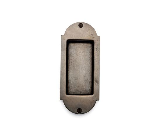 Pocket Door Sets - FP-A400 by Sun Valley Bronze   Flush pull handles