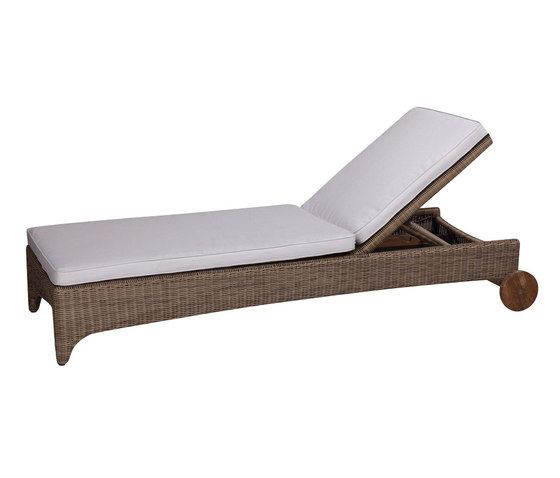 Cape Cod Chaise by Kingsley Bate | Sun loungers