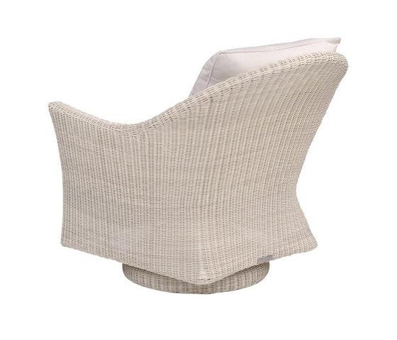 Cape Cod Swivel Rocker Lounge Chair de Kingsley Bate | Sillones
