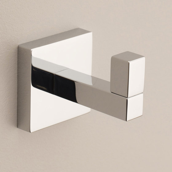 Lineal Single Robe Hook by Ginger   Towel rails