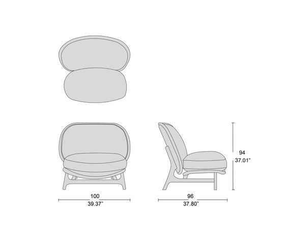 1292 outdoor sillon de Tecni Nova | Sillones