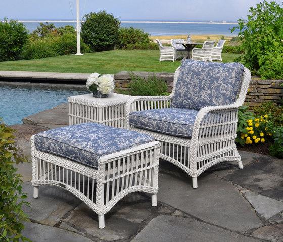 Chatham Lounge Chair + Ottoman de Kingsley Bate   Sillones
