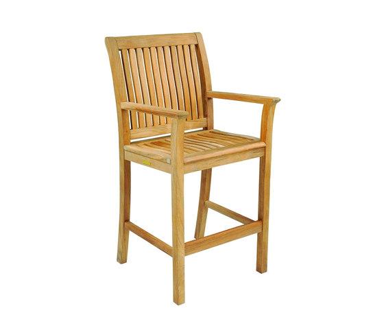 Chelsea Bar Chair di Kingsley Bate | Sgabelli bancone