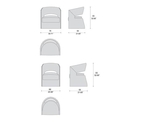 1728 sillas de Tecni Nova | Sillas