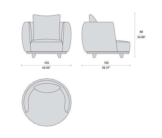 1730 sillones de Tecni Nova | Sillones