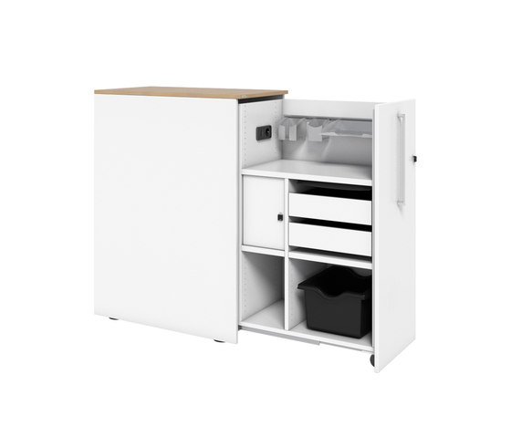 Pontis Open Plan Container de Assmann Büromöbel | Carritos auxiliares