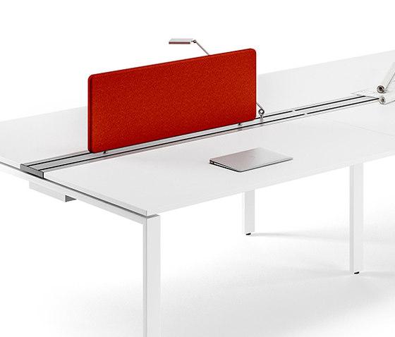 Flexter Desk organizer by Assmann Büromöbel | Table dividers