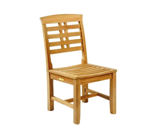 Mandalay Dining Side Chair von Kingsley Bate | Gartenstühle