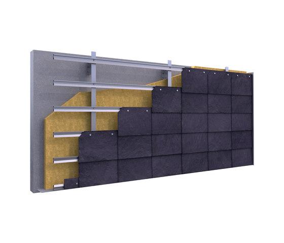 CUPACLAD® 101 Parallel von Cupa Pizarras | Fassadenkonstruktionen