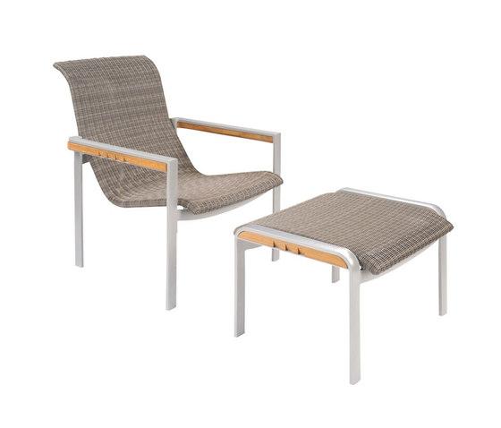 Naples Club Chair + Ottoman de Kingsley Bate | Sillones