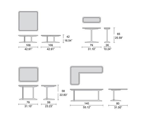 4220/1 mesas de centro de Tecni Nova | Mesas de centro