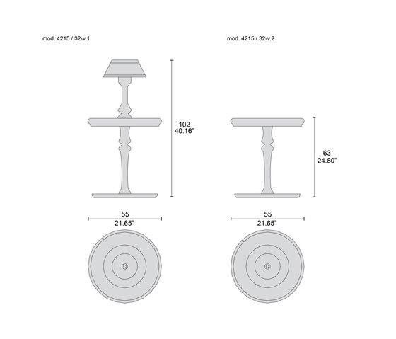 4215/32 mesas de centro de Tecni Nova | Mesas auxiliares