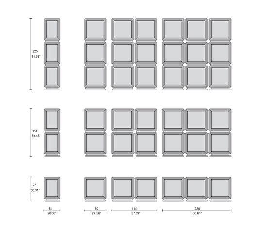 4216 vitrinen von Tecni Nova | Vitrinen