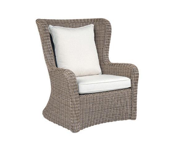 Sag Harbor High Back Lounge Chair de Kingsley Bate   Sillones