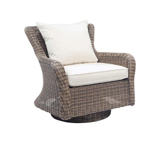 Sag Harbor Swivel Rocker Lounge Chair de Kingsley Bate | Sillones