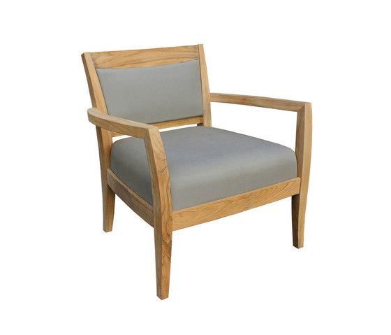 Sonoma Club Chair de Kingsley Bate | Sillones
