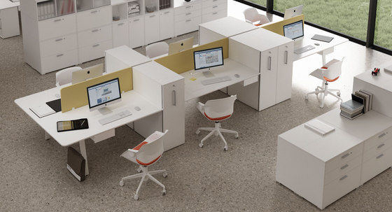 Take Off Evo by Bralco | Desking systems