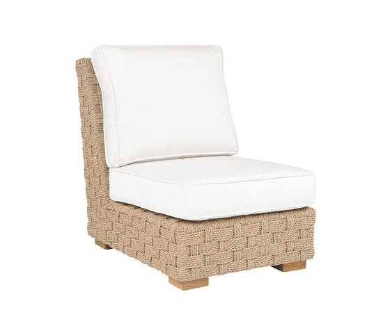 St. Barts Sectional Armless Chair de Kingsley Bate   Sillones